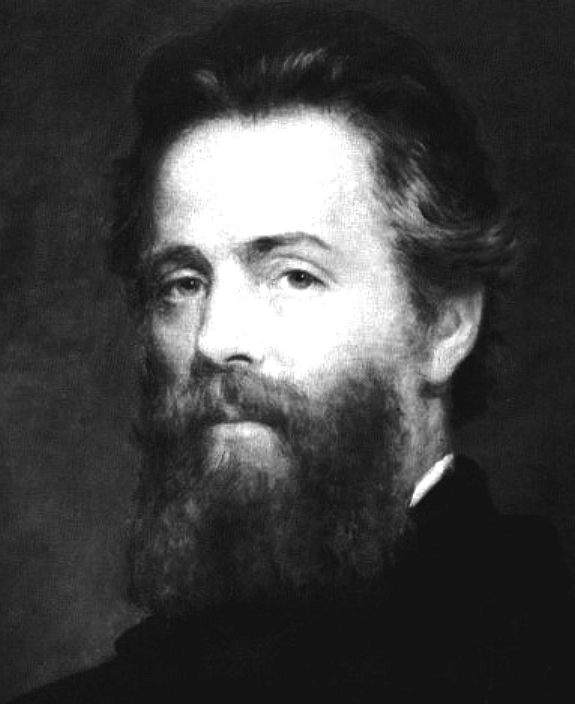 Herman Melville, author of Moby Dick, The Whale